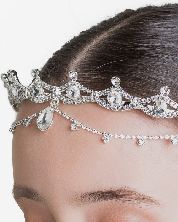 Studio 7, Royale Hairpiece, Crystal White, HP02