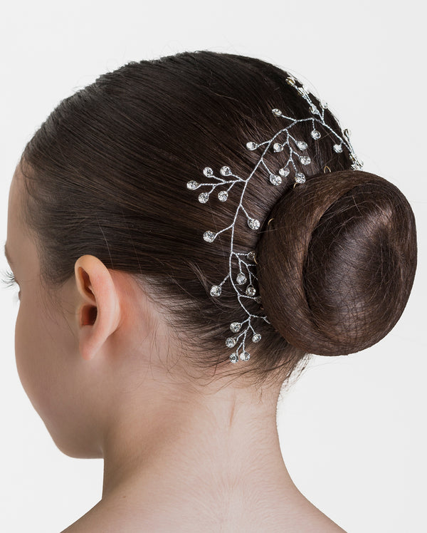 Studio 7, Budding Sparkle Hairpiece, Crystal White, HP10