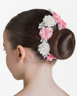 Studio 7, Pearls & Petals Hairpiece, Pink/White, HP15