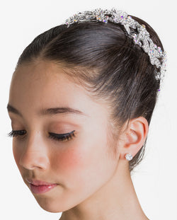 Studio 7, Crystal Sparkle Hairpiece, Crystal White, HP16