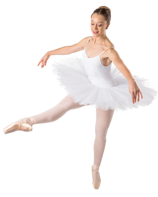CLEARANCE, Studio 7 Half Tutu (Practice), White, Adults, ADHT01