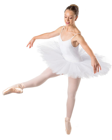Studio 7 Half Tutu (Practice), White, Adults, ADHT01