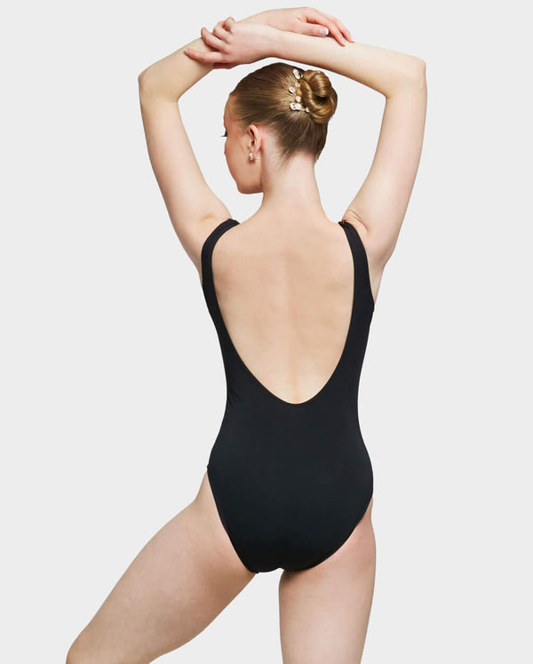 Uactiv, JULIETTE LEOTARD - BLACK, BDS108C1