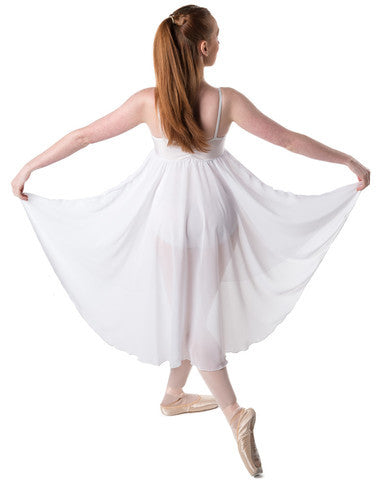 Studio 7, Princess Chiffon Dress, White, Adults, ADD03