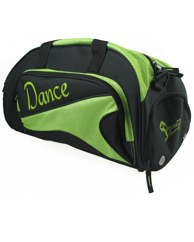 Studio 7, Junior Duffel Bag, Black/Lime, DB05 (Dance)