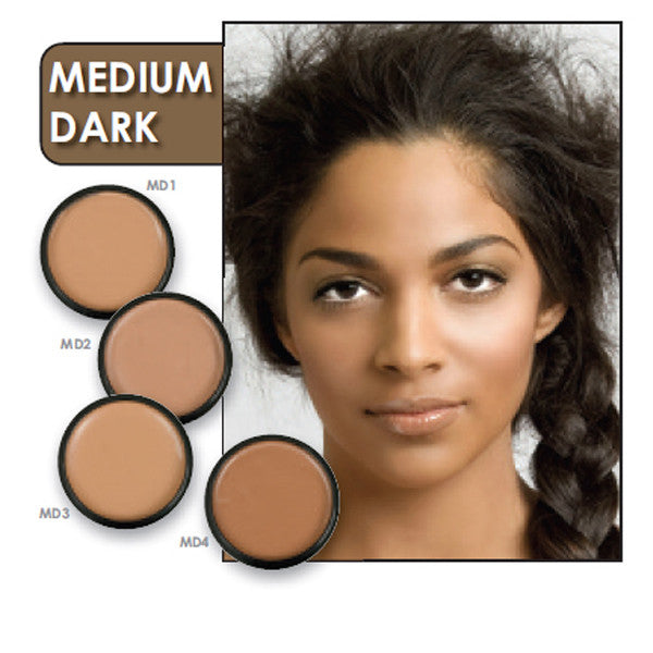 CLEARANCE, Celebré Pro Cream Foundation, Medium Dark 3