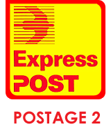 Postage 2 (Express Delivery)