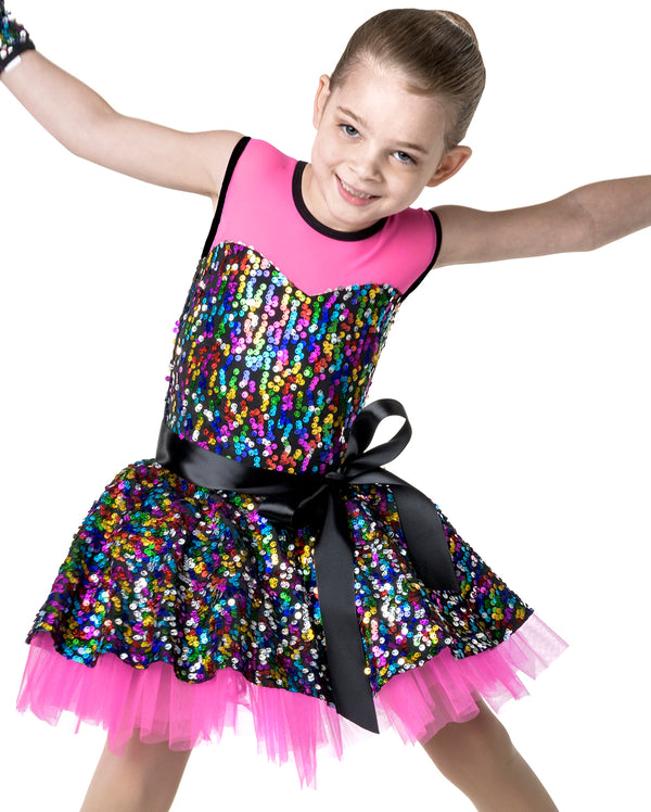 Studio 7, Party Princess Dress, Hot Pink, CHD07
