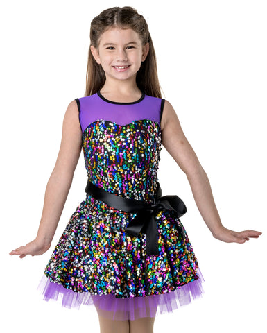 Studio 7, Party Princess Dress, Purple, CHD07