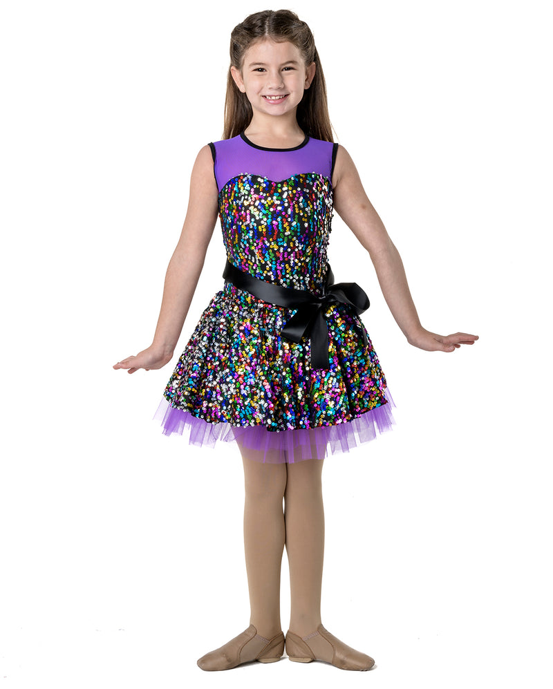 CLEARANCE, Studio 7, Party Princess Dress, Purple, CHD07