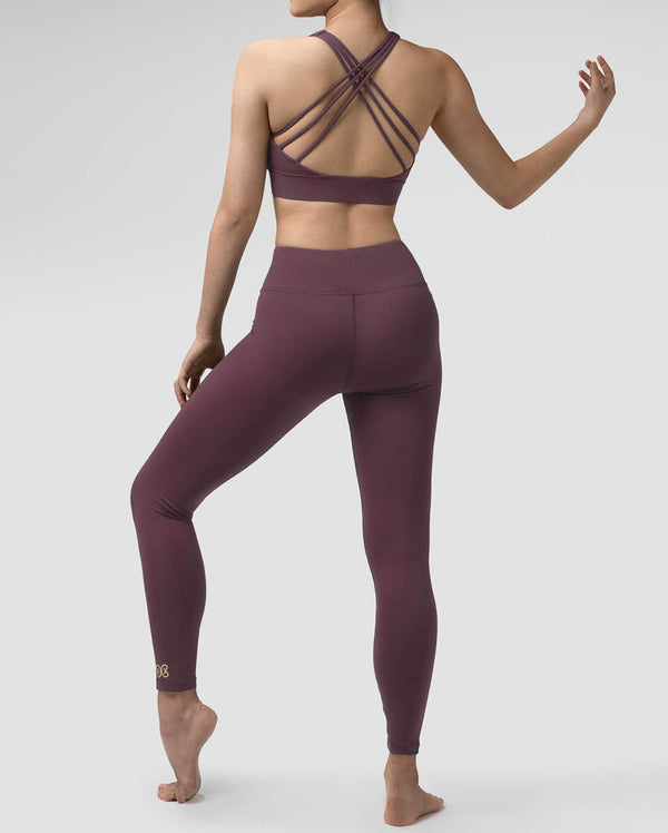 Pauline Leggings - WOOD VIOLET, LG103C1