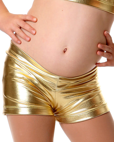 Studio 7 Metallics, Hot Short, Gold, Childs, CHS02