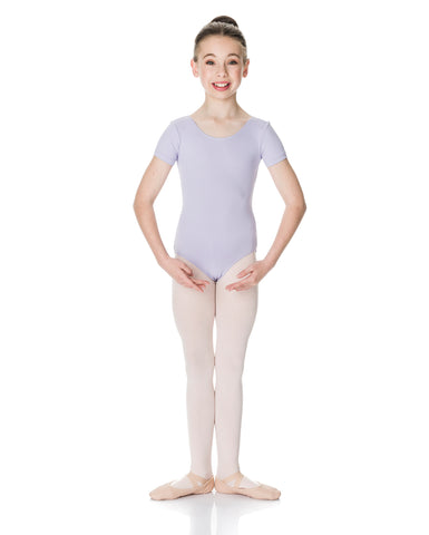Studio 7, Short Sleeve Leotard, Childs, TCSL01