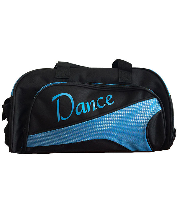 Studio 7, Junior Duffel Bag, Black/Aqua, DB05 (Dance)
