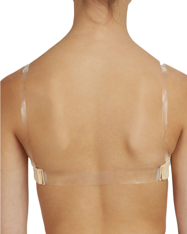 Capezio Replacement Clear Back Strap, STRP2