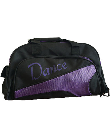 Studio 7, Junior Duffel Bag, Black/Dark Purple, DB05 (Dance)
