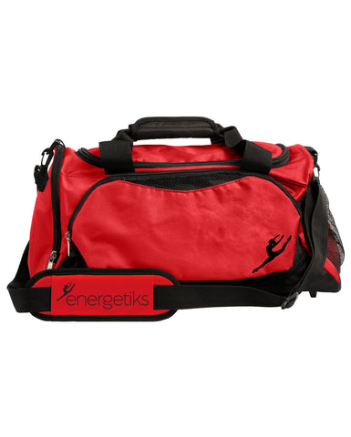 Energetiks Large Dance Bag, Red/Black, DB32 (New Fabric)