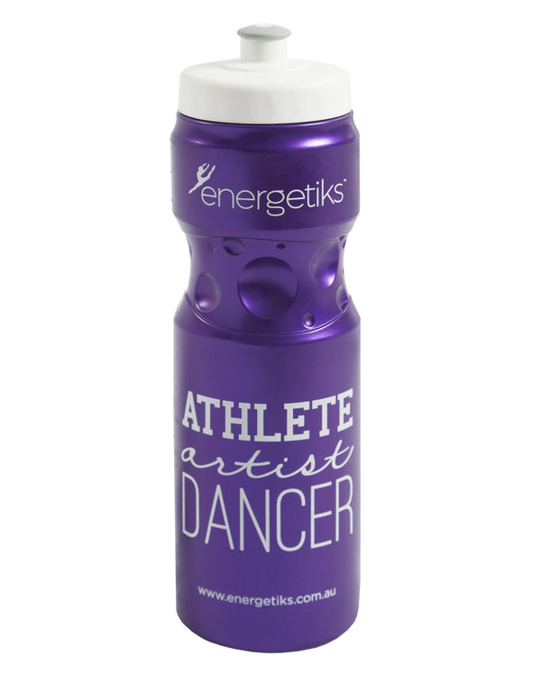 Energetiks Athlete Drink Bottle, Deep Purple, G002