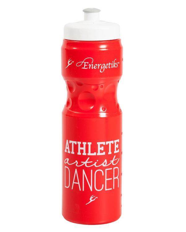 Energetiks Athlete Drink Bottle, Red, G002