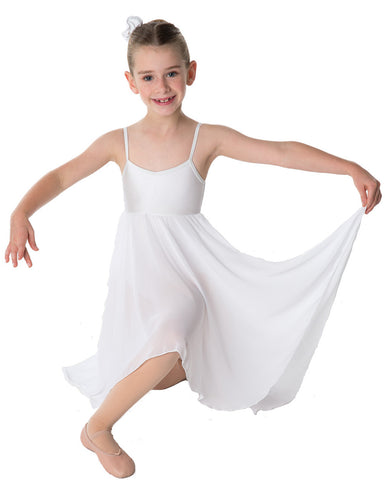 Studio 7, Princess Chiffon Dress, White, Childs, CHD03