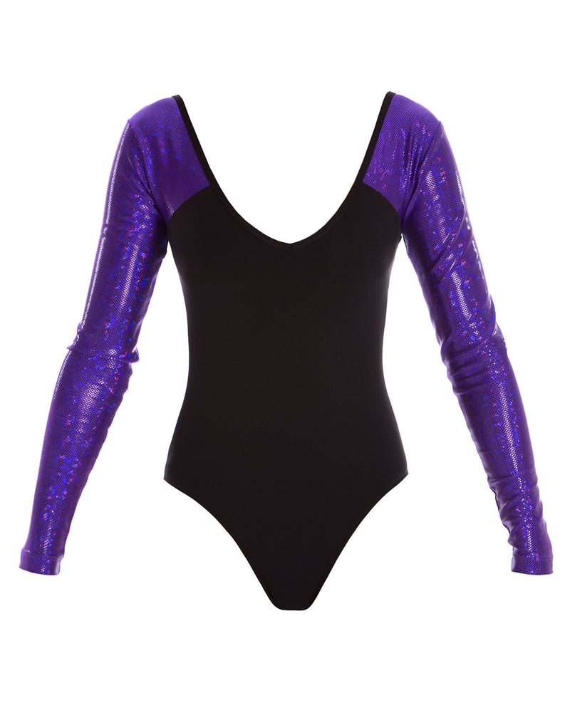 Energetiks 'Shattered Glass' Sophie Leotard, Childs, PARTY PURPLE, GCL111