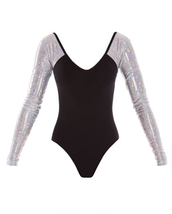 Energetiks 'Shattered Glass' Sophie Leotard, Childs, SILVER, GCL111