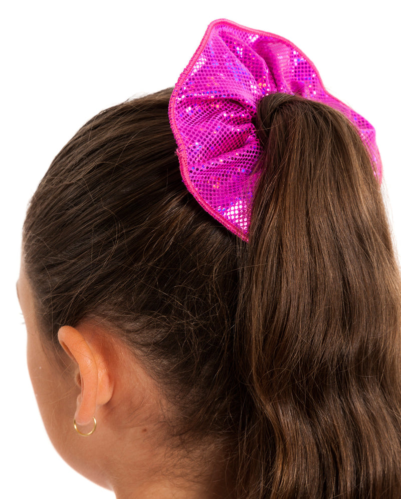 Energetiks Shattered Glass Scrunchie, HOT PINK, H003G