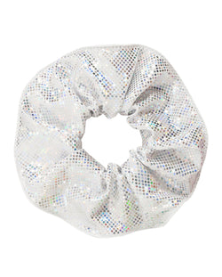 Energetiks Shattered Glass Scrunchie, SILVER, H003G