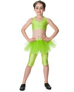 Studio 7, Tutu Skirt, Lime, CHTS01