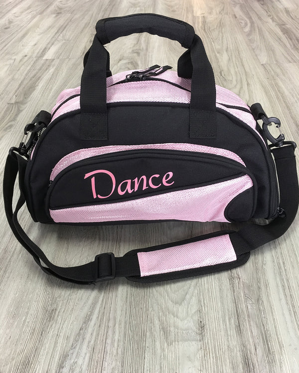 Studio 7, Mini Duffel Bag, Black/Pale Pink, DB08 (Dance)