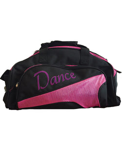 Studio 7, Junior Duffel Bag, Black/Mulberry, DB05 (Dance)