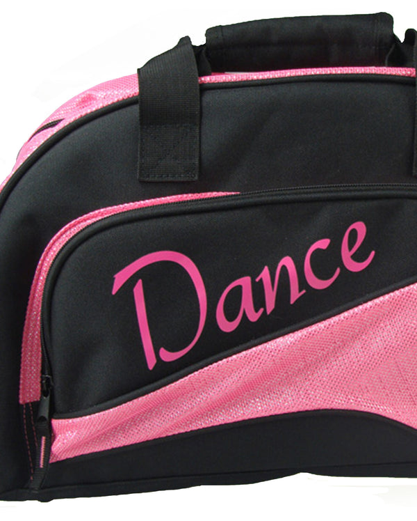 Studio 7, Junior Duffel Bag, Black/Hot Pink, DB05 (Dance)