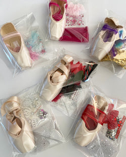 Demi Pointe Shoe For Decorating - ASSORTED