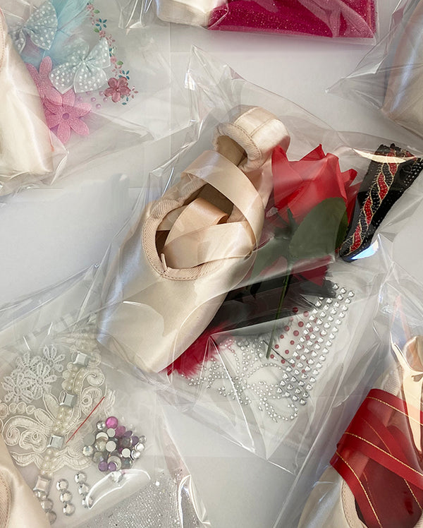 Pointe Shoe For Decorating - ASSORTED