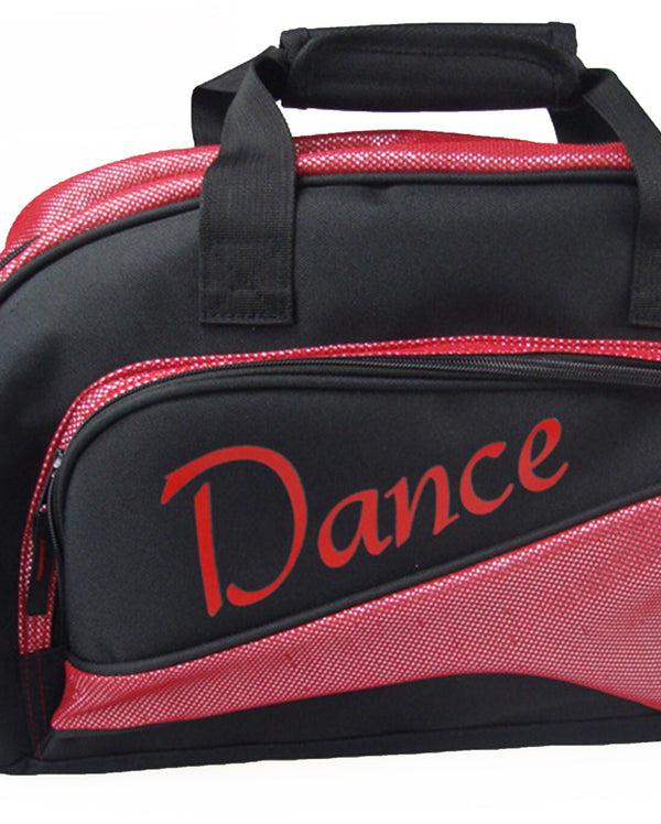 Studio 7, Junior Duffel Bag, Black/Red, DB05 (Dance)