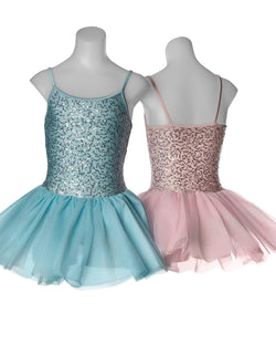 Studio 7, Sequin Tutu Dress, Pale Blue, Childs, CHTU04