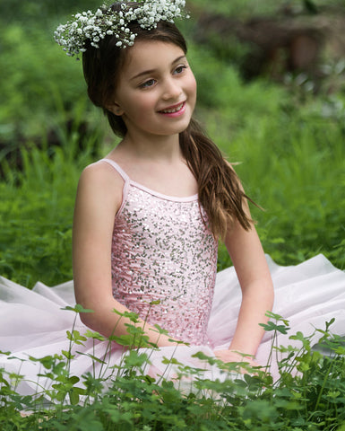 Studio 7, Sequin Tutu Dress, (4 Colours) Childs, CHTU04