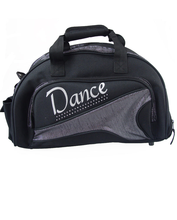 Studio 7, Junior Duffel Bag, Black/Silver Metallic, DB05 (Dance)