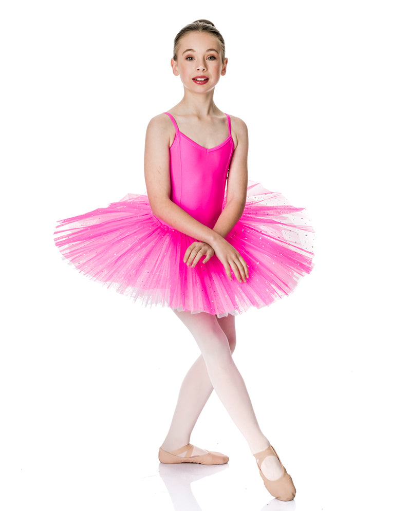 Studio 7, Two Tone Sparkle Tutu, Hot Pink/White, CHTU03