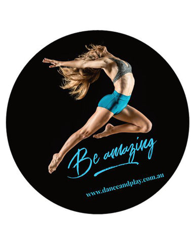 Glossy Sticker - Be Amazing