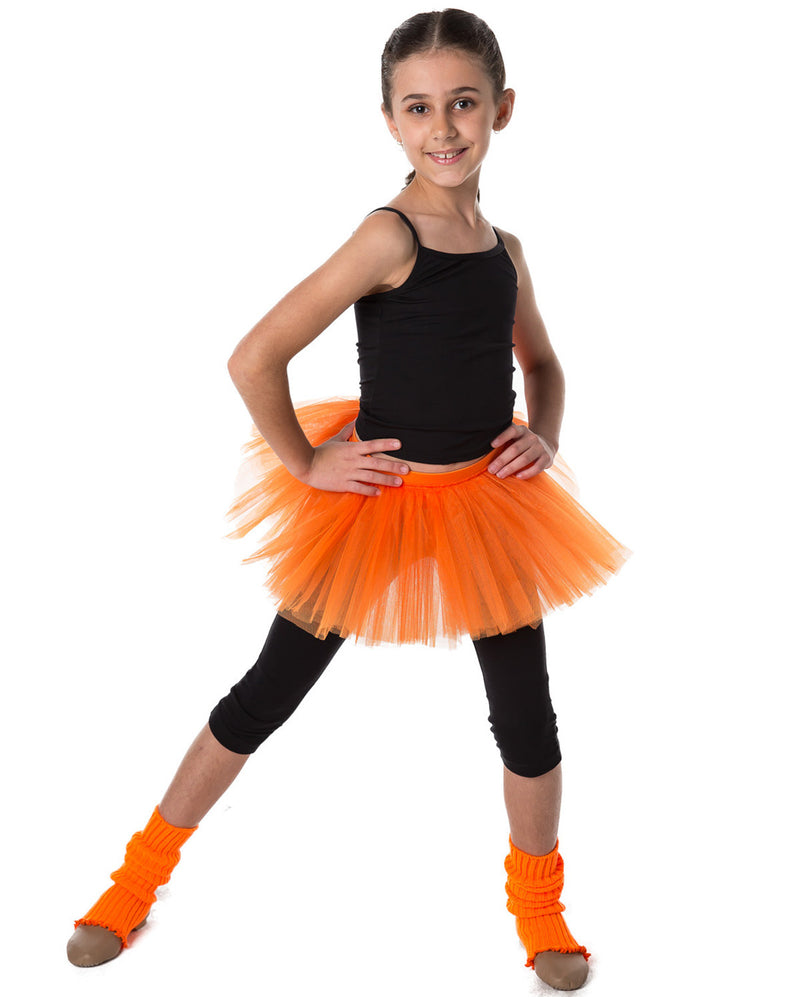 Studio 7, Tutu Skirt, Orange, CHTS01