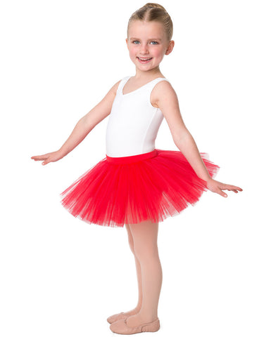 Studio 7, Tutu Skirt, Red, CHTS01