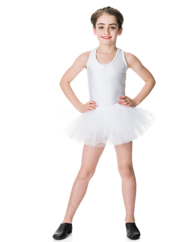 Studio 7, Tutu Skirt, White, CHTS01