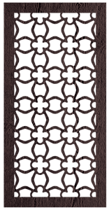 Apia - 600 x 1200 mm - 9 mm Decorative Hardwood Screen - Living Effects