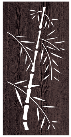 Bamboo - 600 x 1200 mm - 9 mm Decorative Hardwood Screen - Living Effects
