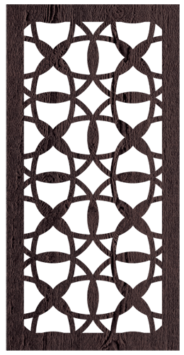 Budapest - 600 x 1200 mm - 9 mm Decorative Hardwood Screen - Living Effects