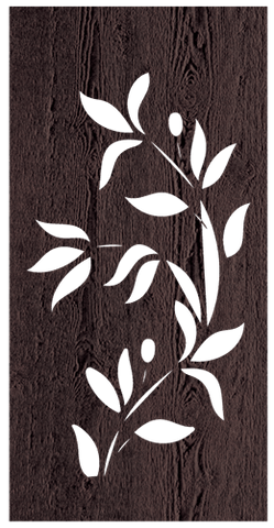 Climbing Vine - 600 x 1200 mm - 9 mm Decorative Hardwood Screen - Living Effects