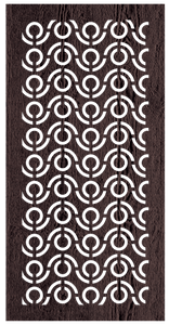 Florida - 600 x 1200 mm - 9 mm Decorative Hardwood Screen - Living Effects