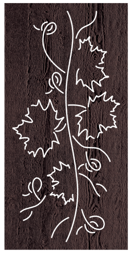 Grapevine - 600 x 1200 mm - 9 mm Decorative Hardwood Screen