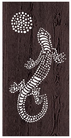 Lizard - 600 x 1200 mm - 9 mm Decorative Hardwood Screen